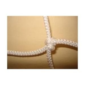 Kézilabda kapuháló pár3x2m méretű kapura, 10x10 cm szembőség, 4mm vastag kézi csomózású strapabíró k