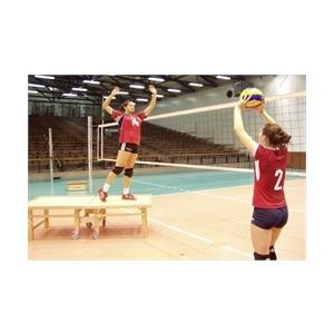 Röplabda tréning edzéssegítő - röplabda tréning partner dobogó , összehajtható, gördíthető, könny