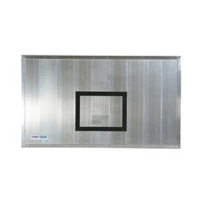 Aluminium kültéri kosárpalánk, 120x90 cm