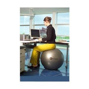 Sitsolution irodai ülőlabda 65 cm apró lábakkal, fekete gyémánt standard anyagból a legkedvezőbb árb