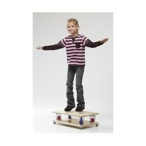 Téglalap sport rugós egyensúlyfejlesztő 60 x 35 cm, 30 kg-ig