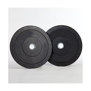 Capetan® Gumírozott 31mm átm, 20Kg Standard súlytárcsa acél gyűrűvel a közepén - gumírozott súlytár
