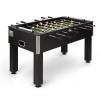KLARFIT Maracanã asztali foci, csocsó asztal, parafa labdák, ital tartó, fekete