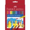 Faber-Castell Filctoll készlet, FABER-CASTELL, 12 különböző szín