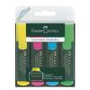 """Faber-Castell Szövegkiemelő, 1-5 mm, FABER-CASTELL, """"Textliner 48"""", 4 különböző szín"""