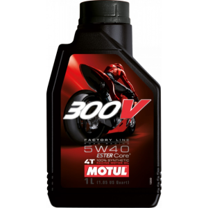 Motul 300V 4T Factory Line Road Racing 5W-40 1 L