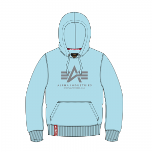 Alpha Indsutries Basic Hoody - air blue