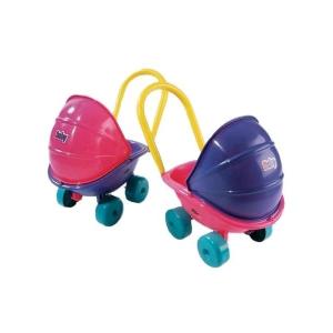 Dohany Mély kocsi babáknak rózsaszín | Rózsaszín |
