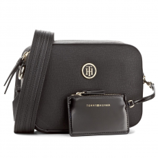 Tommy Hilfiger Táska TOMMY HILFIGER - TH Signature Strap Camera Bag AW0AW04846 002