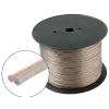 Hangszóró kábel, átlátszó, 2x0,75mm2, réz