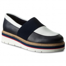 Tommy Hilfiger Félcipő TOMMY HILFIGER - Manon 2A FW0FW02102 Tommy Navy 406