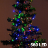Christmas Planet Színes Karácsonyi Fényfüzér 560 LED