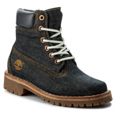 TIMBERLAND Bakancs TIMBERLAND - Ltd Fabric 6In A1G7R Denim