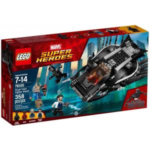 LEGO Super Heroes A fekete páncél harcos elleni támadás 76100