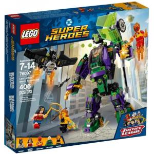LEGO Super Heroes Lex Luthor robot támadása 76097