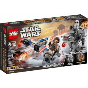 LEGO Star Wars Ski Speeder vs. Első Rendi Lépegető 75195