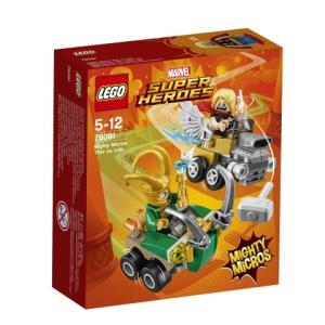 LEGO Super Heroes Thor és Loki összecsapása 76091