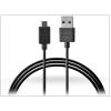 Sony gyári micro USB adat- és töltőkábel 100 cm-es vezetékkel - UCB16 black (ECO csomagolás)