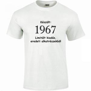 763560c99c Tréfás póló 50 éves, Készült 1968... (XL) - Póló árak - Kirakat a ...