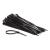 Weidmüller 1723560000 160x4,5mm fekete kábelkötegelő 100db/csomag