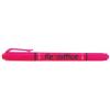 FLEXOFFICE Szövegkiemelő, 1,0/4,0 mm, kétvégű, FLEXOFFICE HL01, rózsaszín (FOHL01R)