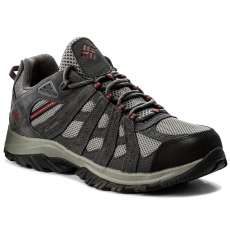 Columbia Bakancs COLUMBIA - Canyon Point Waterproof YM5416 Charcoal/Red Element 030
