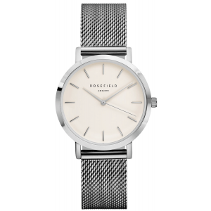 Rosefield The Tribeca White Silver TWS-T52