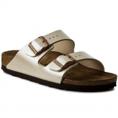Birkenstock Papucs BIRKENSTOCK - Arizona Bs 1009921 Graceful Pearl White