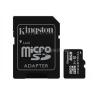 Kingston Memóriakártya MicroSDHC 8GB CLASS 10 UHS-I Industrial Temp + Adapter (SDCIT/8GB)