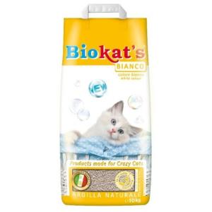 EuroPetCenter BIOKAT'S BIANCO 10KG MACSKAALOM