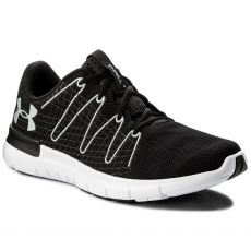 Under Armour Cipő UNDER ARMOUR - Ua Thrill 3 1295736-001 Blk/Wht/Ocg