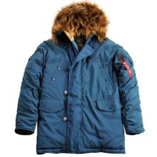 Alpha Industries Explorer - bold blue színű kabát