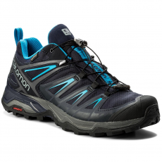 Salomon Bakancs SALOMON - X Ultra 3 Gtx GORE-TEX 402423 27 W0 Graphite/Night Sky/Hawaiian Surf
