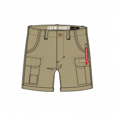 Alpha Industries CREW SHORT - sand