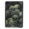 Apple iPad Mini / iPad Mini Retina, Műanyag hátlap védőtok, 3D hatás, koponya minta