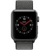 Apple Watch 3 GPS + Cellular 42mm Space Gr. Alu Case Olive Sp.Loop  MQKR2ZD/A