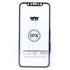 TOPTEL Log-on edzett üvegfólia 9H keménységű, 5D Full Glue, iPhone X, fekete