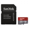 Sandisk 173469 microSD ultra android kártya 256GB, 100MB/sec., CL10, UHS-I, A1