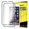 Hurtel Wozinsky elő+hátlapi 3D teljes kijelzős edzett üvegfólia 9H keménységű alumínium kerettel, iPhone 6 Plus/6S Plus, fekete