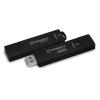 """Kingston Pendrive, 128GB, USB 3.0, 250/85MB/s, titkosítással, vízálló, KINGSTON """"Ironkey D300"""", fekete"""