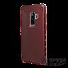 UAG Plyo Samsung G965 Galaxy S9+ hátlap tok, Crimson