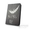 GreenGo univerzális tablet tok 7-8 colos, Don`t touch me mintás