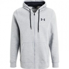 Under Armour STORM RIVAL COTTON FULL ZIP Under Armour Training kapucnis felső - M-es méret (1280781-025 - M)