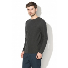 Selected Homme , Spot kereknyakú pulóver, Antracitszürke, XL (16059848-ANTHRACITE-XL)