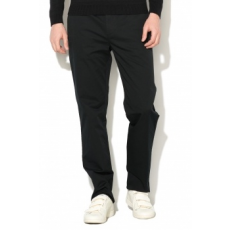United Colors of Benetton , Straight fit chino nadrág, Fekete, 52 (4APN55CK8-100-52)