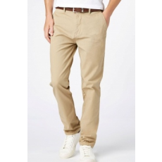 Next , Slim fit chino nadrág övvel, Bézs, 28R (166131-BEIGE-28R)