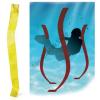 Tremblay Súlyozott szalag készlet víz alatti szlalom pályához, 4 db-s TREMBLAY