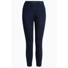 Next , Crop farmer hatású leggings, Sötétkék, 14R (152807-BLUE-14R)