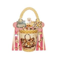 . Teásbögre, táska és cipő mintával 30 cl