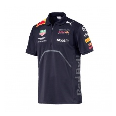 Puma Red Bull Racing fĂŠrfi gallĂŠros póló navy F1 Team 2018 - L